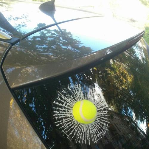 CAR 3D BALL STICKERS