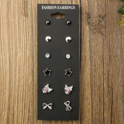 CUTE BABY SQUARE STUD EARRINGS