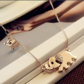 HIGH QUALITY CUTE ELEPHANT NECKLACE