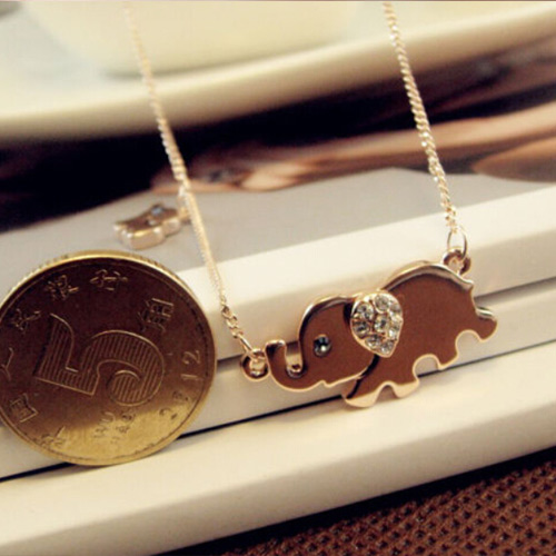 HIGH QUALITY CUTE ELEPHANT NECKLACE third view