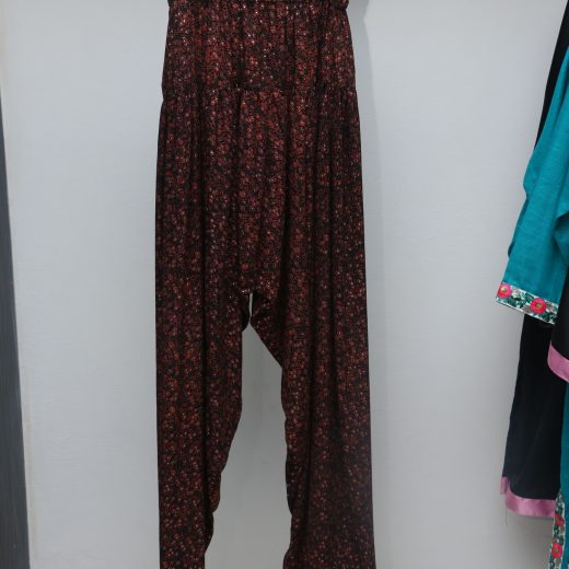Fancy trouser With sparking Color