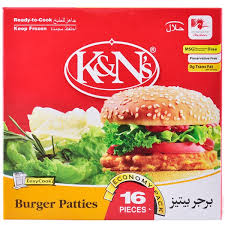 K&NS Burger Patties 1000gm
