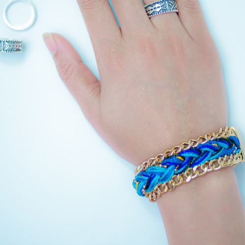 MULTILAYER BOHO CHAIN BRACELET