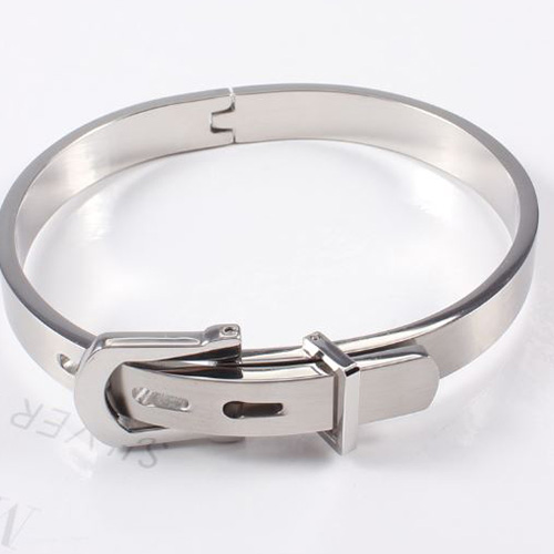 STAINLESS STEEL LOVE BRACELET second view
