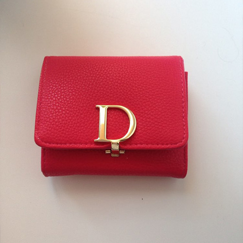 CHRISTIAN DIOR PINK WALLETS