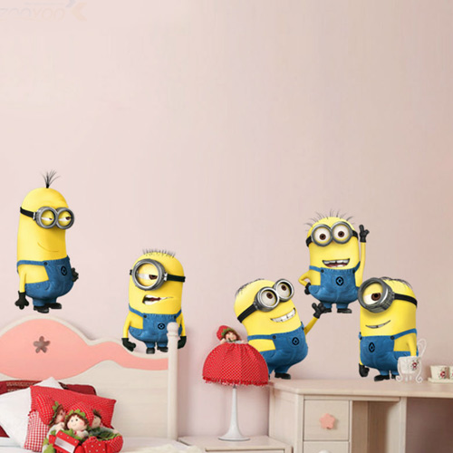DESPICABLE ME WALL STICKERS