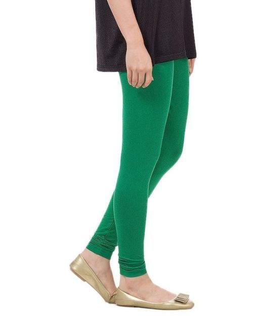 Dark Green Tights For Women front