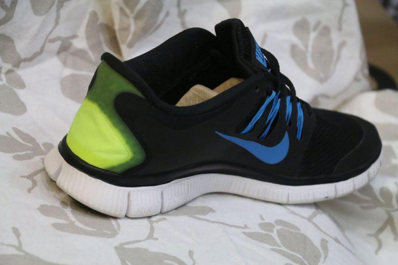 Nike free Run 5.0 + orginal runner fourth view