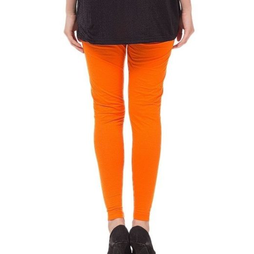 Orange Tights For Women front