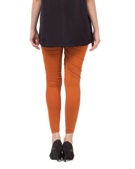 Rust Color Tights For Women front