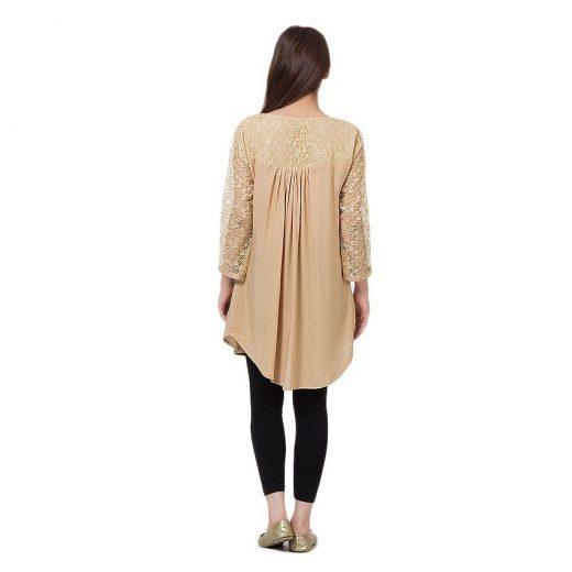 Skin Cotton & Net Shirt for Women front