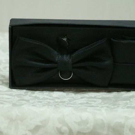 Stylish bows for men with set first view