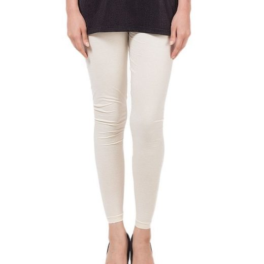 White Tights For Women front