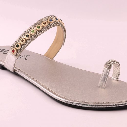 ladies casual chappal fawn