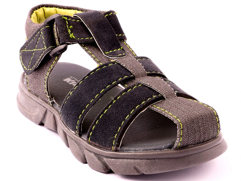 Kids Children Casual Sandal GREY