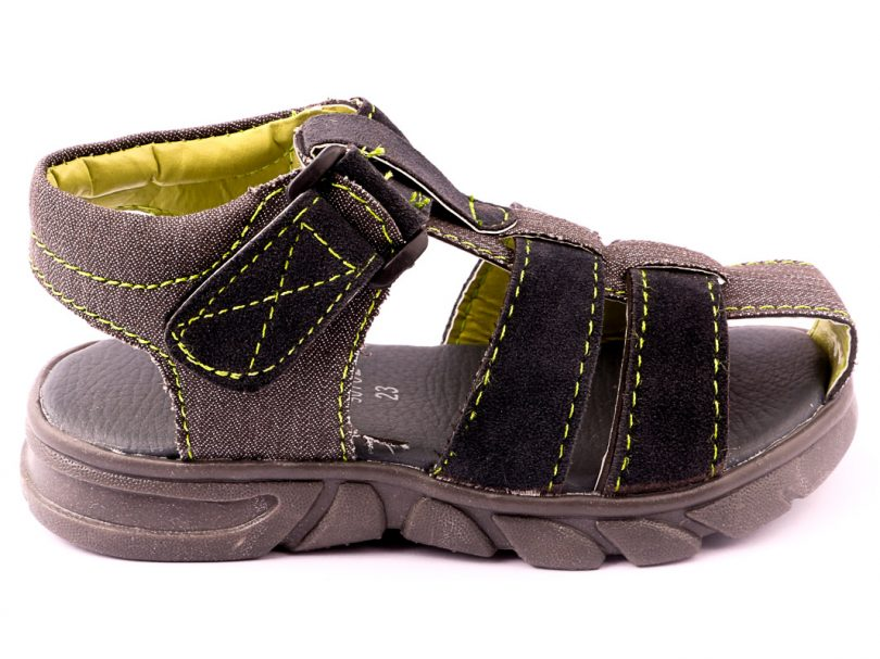 Kids Children Casual Sandal GREY third view