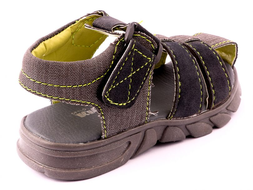 Kids Children Casual Sandal GREY fifth view