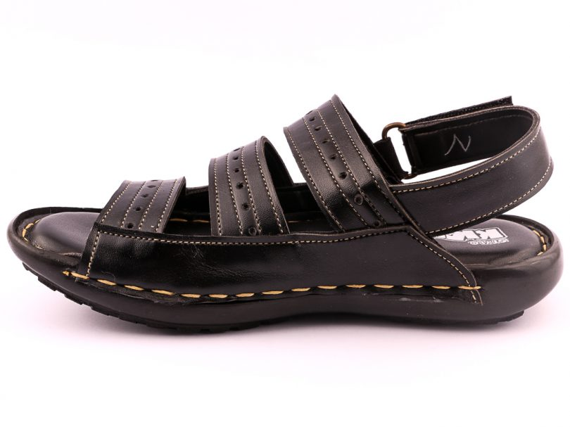 Kids Children Formal Sandal BLACK fourth view