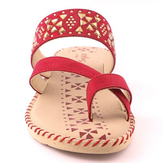 Ladies Casual Chappal RED